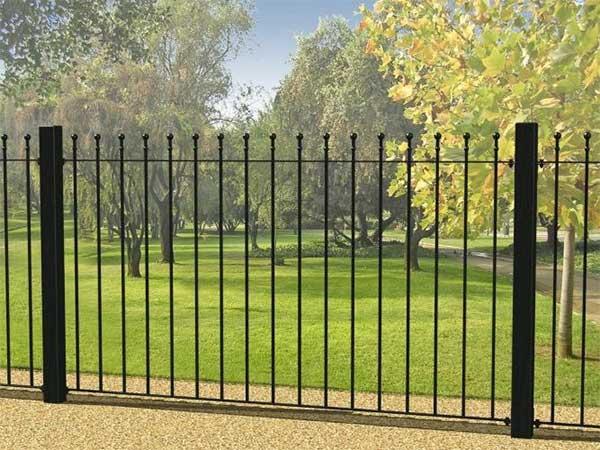Recinzioni metalliche modulari per giardini case ravenna - Recinzioni per giardini ...